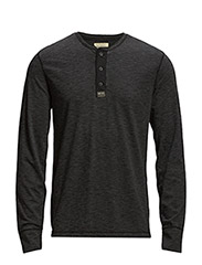 LSL HENLEY - POLO BLACK