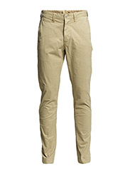 OFFICERS SLIM CHINO PANT 34 - CLASSIC TAN