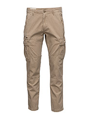 SLIM-FIT COTTON CARGO PANT - GALLERY TAN