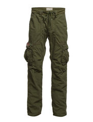 LINED-CARGO-PANT 32 - PINE OLIVE