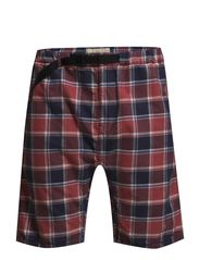 PLAID COTTON HIKING SHORT - REMINGTON