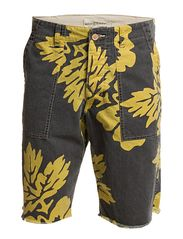 Denim & Supply Ralph Lauren PRINTED UTILITY CUT OFF SHORT