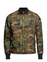 SHERPA QUILT-LINED-JACKET - WOODLAND CAMO