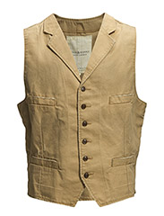 CTNWAISTCOAT - WASHED OUT BROW