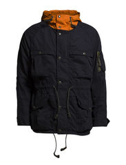 NAUTICAL HIK-COTTON-JACKET - HERITAGE NAVY