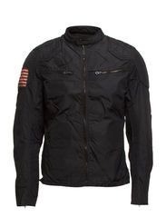 MOTORCYCLE JACKET - POLO BLACK
