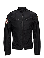 MOTORCYCLE-LINED-JACKET - POLO BLACK