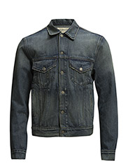 TRUCKER DENIM JACKET - KNICKERSON WASH