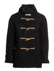 DUFFLE COAT - POLO BLACK