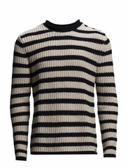 LSLROLL NECK - STRIPE