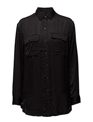 HUNTER MLTRY-LONG SLEEVE-SHIRT - BLACK