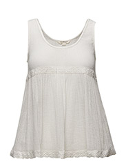 PHOEBE-SLEEVELESS-BLOUSE - ANTIQUE CREAM