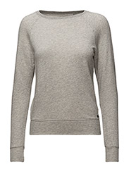 FLEECE CREWNECK SWEATSHIRT - HATHAWAY GREY H