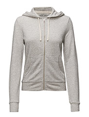 FRENCH TERRY HOODIE - HATHAWAY GREY H