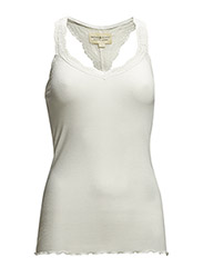 SLS LACE CAMI - ANTIQUE CREAM