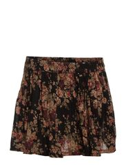 RUCHED MINI SKIRT - CAMBRIDGE FLORA