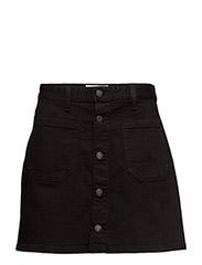 D&S Tilden Button-Front Skirt - EMILIE