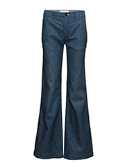 HR WIDE FLAR-5-POCKET-DENIM 32 - ALSTON