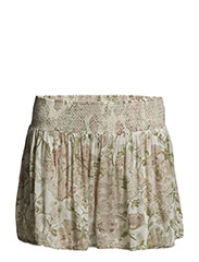 SMOCKED FLORAL SHORT - BRIGHTON FLORAL