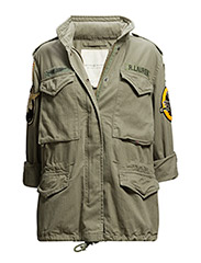 MILITARY PATCHES FIELD JACKET - MOUNTAIN GREEN