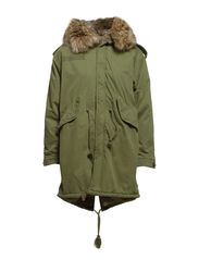 FISHTAIL PARKA FLAG - ARMY OLIVE
