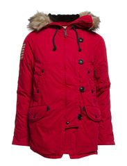SNORKEL JACKET - MOUNTAIN RED