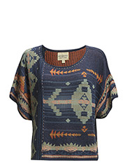 SSL CREWNECK - BLUE MULTI