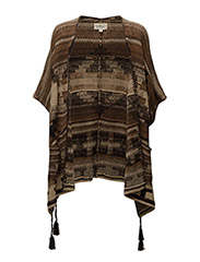 Southwestern Cardigan - BROWN MULTI