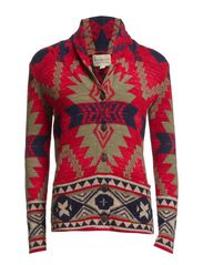 LS SHAWL CARDIGAN - MULTI