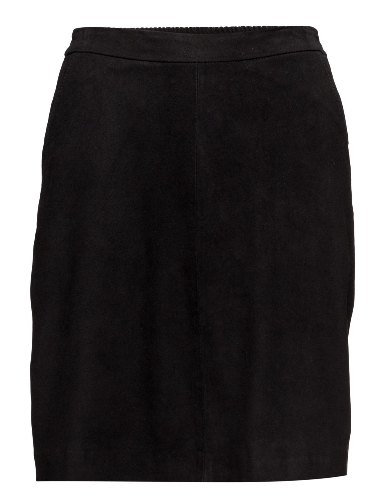 A Skirt DEPECHE Korte til Damer i Sort