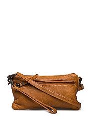 Small bag / Clutch - COGNAC