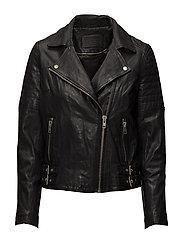 Biker jacket - BLACK