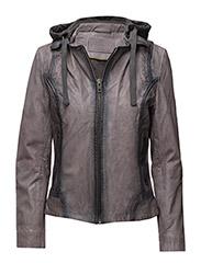 Biker jacket - ANTRACIT