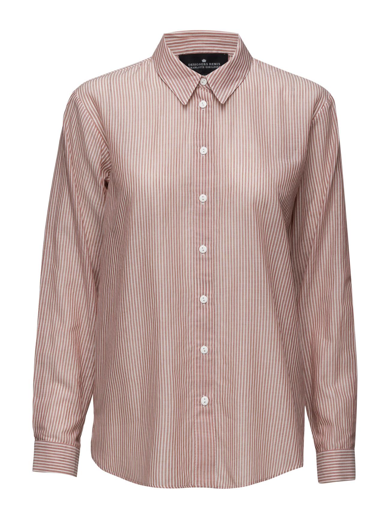 Milly Shirt Designers Remix Langærmede til Damer i Mursten