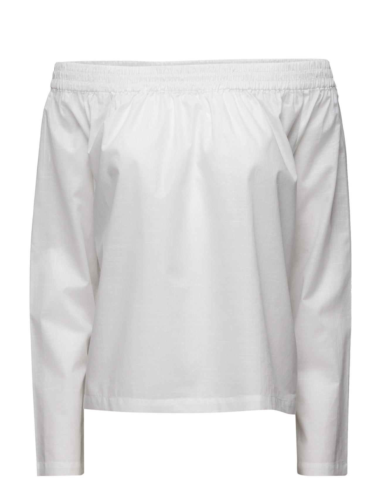 Manly Shoulder Designers Remix Langærmede til Kvinder i hvid