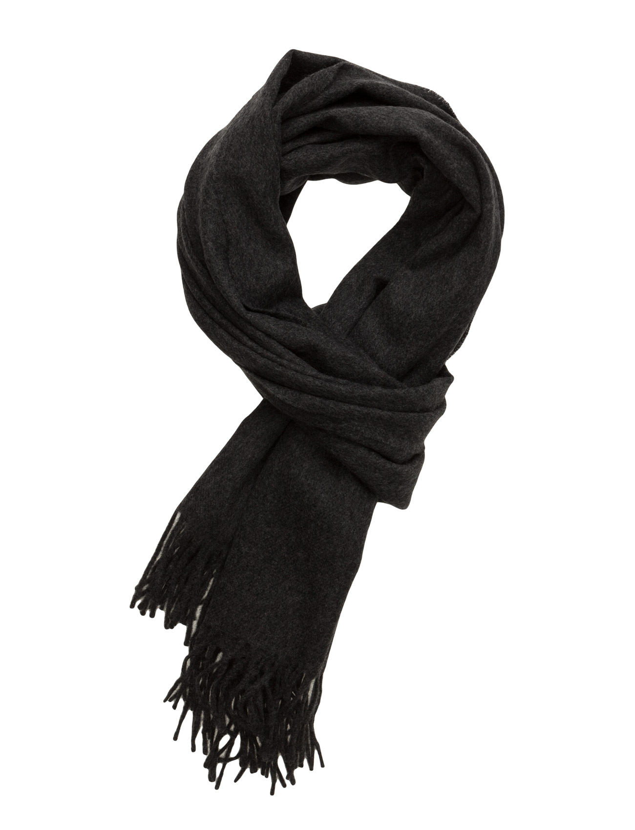 Kendall Scarf Designers Remix Halstørklæder til Kvinder i Mørk grå