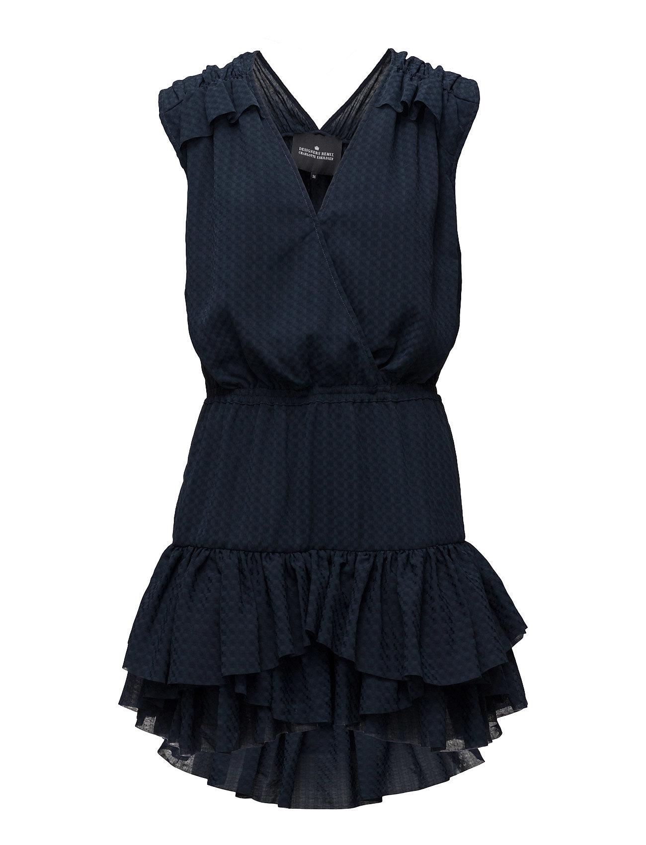 Enigma Dress Designers Remix Kjoler til Kvinder i Navy blå