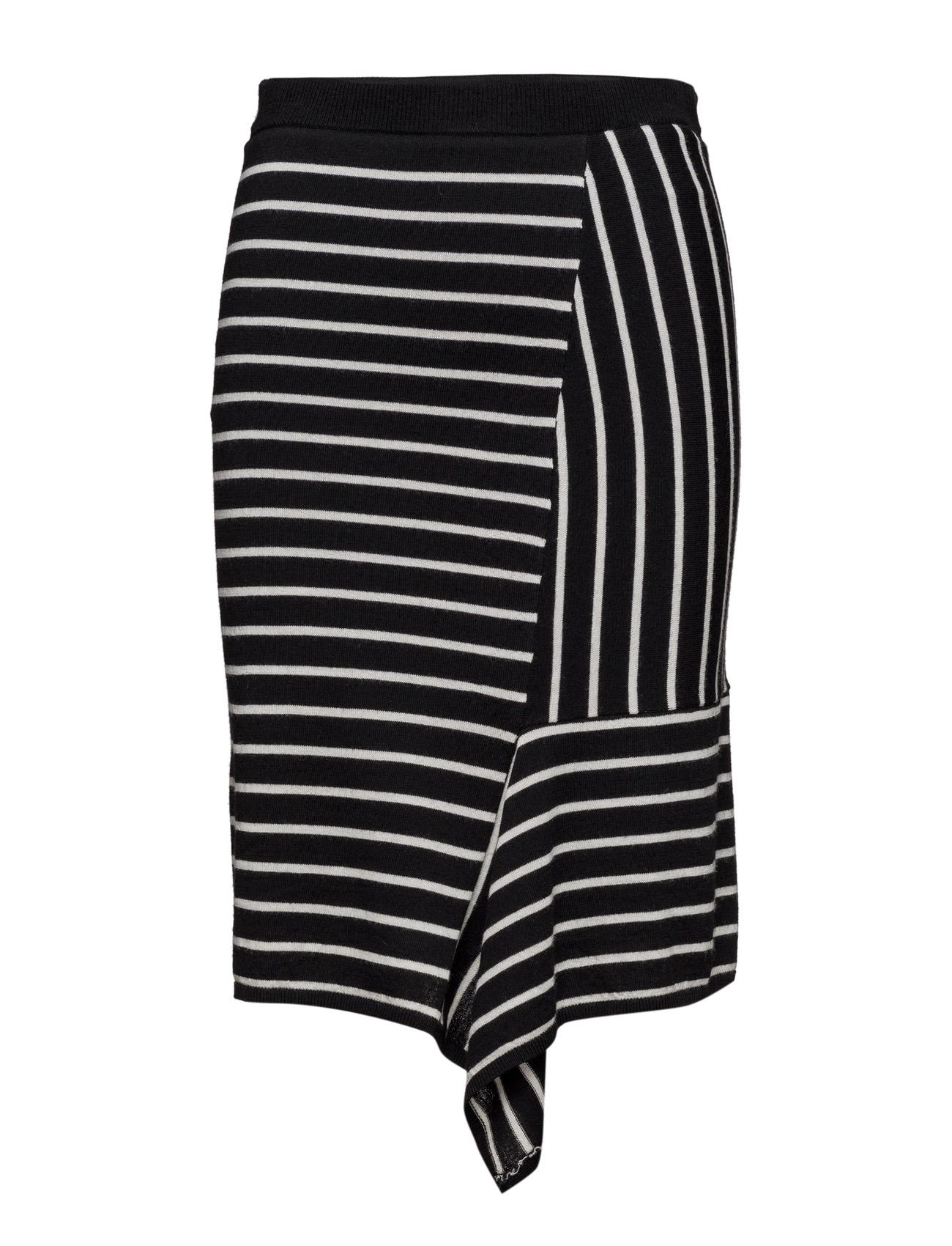 Aza Drape Skirt Designers Remix Knælange & mellemlange til Damer i Stripes