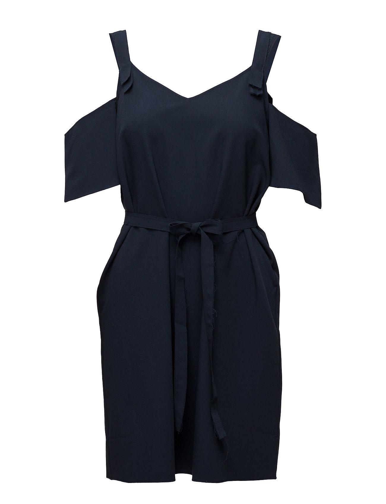 Ashley Shoulder Designers Remix Kjoler til Kvinder i Navy blå