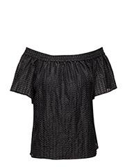 Keira Off-Shoulder - BLACK