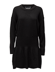 Carson Short Dress - BLACK