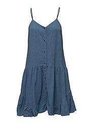 Kelsey Dress - MEDIUM DENIM