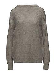 Vicki Sweater - GREY MELANGE