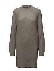 Vicki Dress - GREY MELANGE