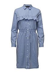 Amy Smock Dress - SKY BLUE