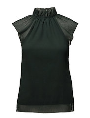 Ines Top - DARK GREEN