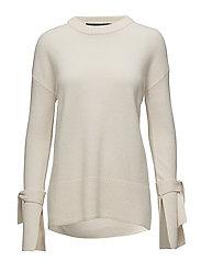 Sydni Tie Sweater - IVORY