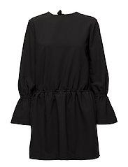 Ashley Back Dress - BLACK