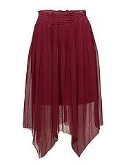 Lila Skirt - DARK RED