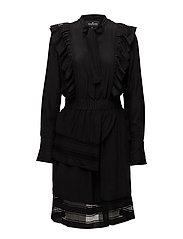 Madison Dress - BLACK-BLACK